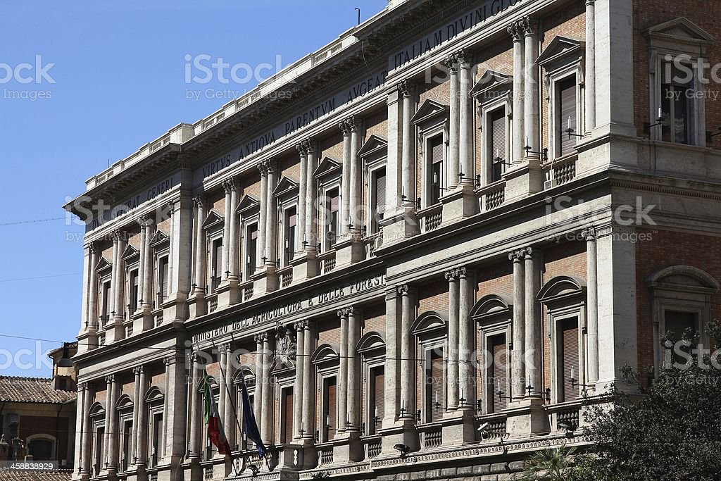 Italy government stock photo
