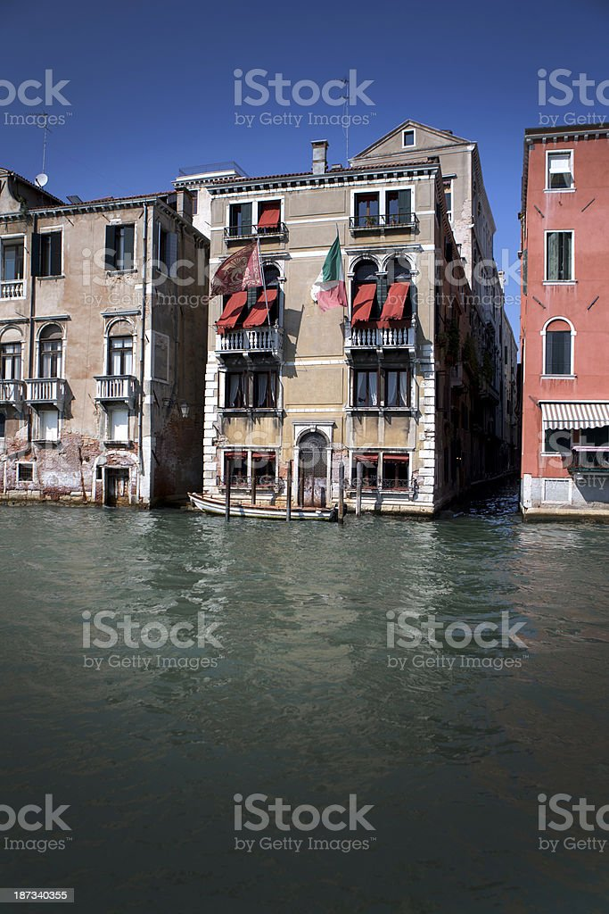 Italy on water royalty-free stock photo