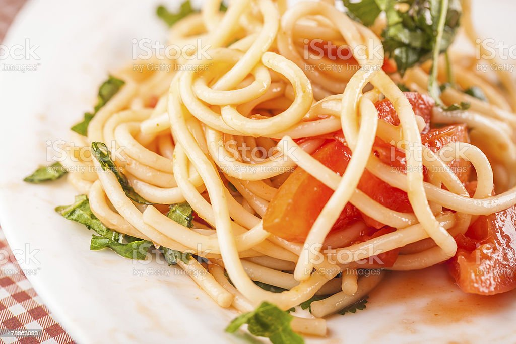 Italy pasta noodle royalty-free stock photo