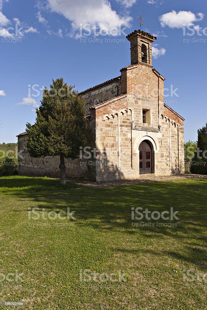 Italy. Piedmont. Church of San Secondo royalty-free stock photo