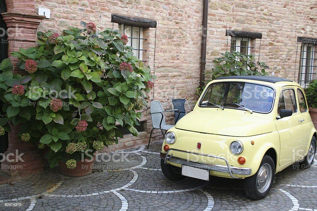 Italy retro stock photo