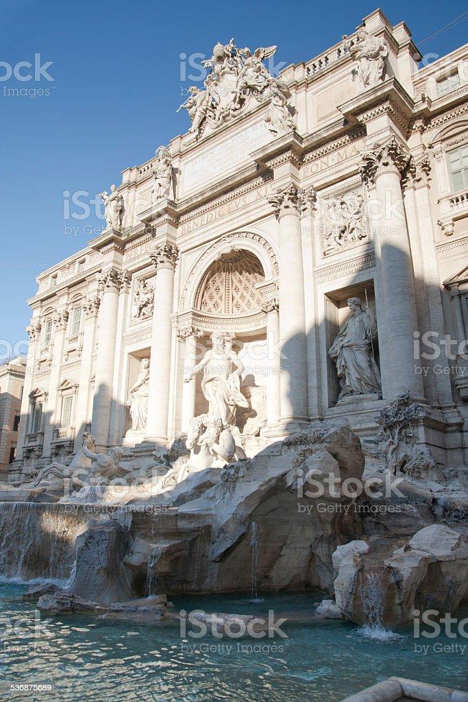 Italy - Rome, the Trevi Fountain stock photo