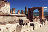 Italy. Ruins of Pompey italy