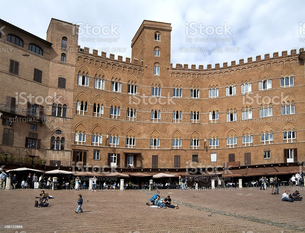 Italy, Siena stock photo