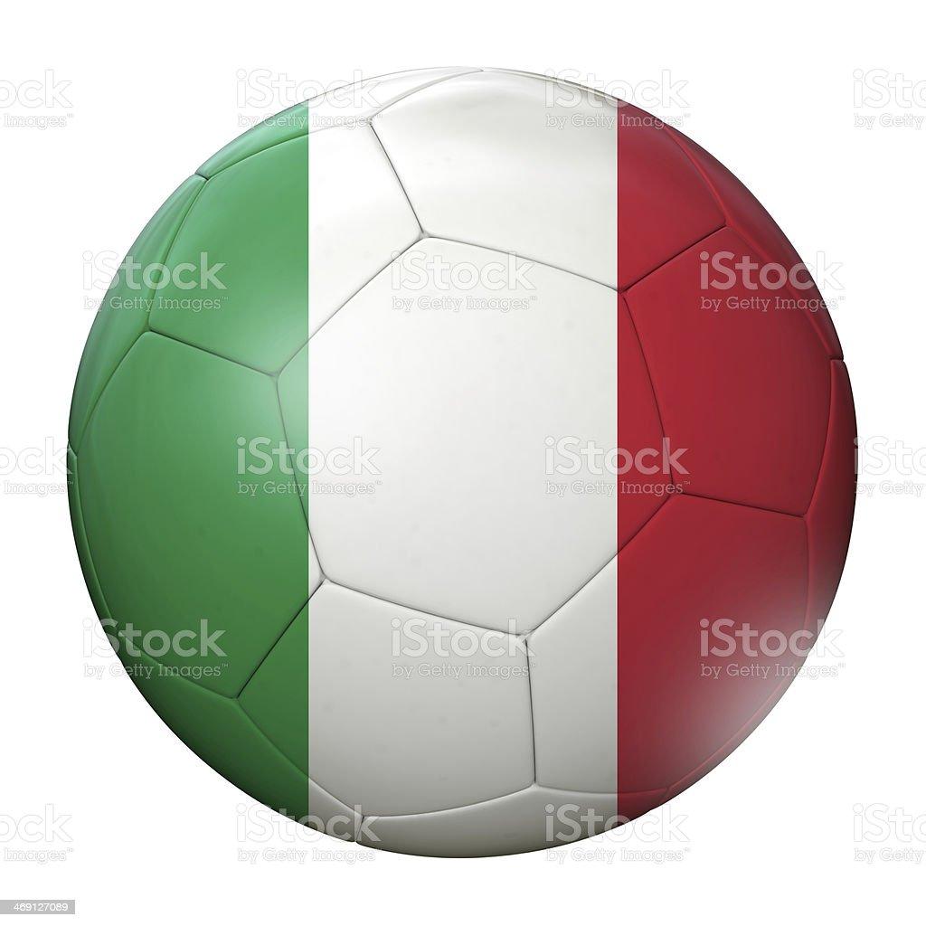 Italy Soccer Ball royalty-free stock photo