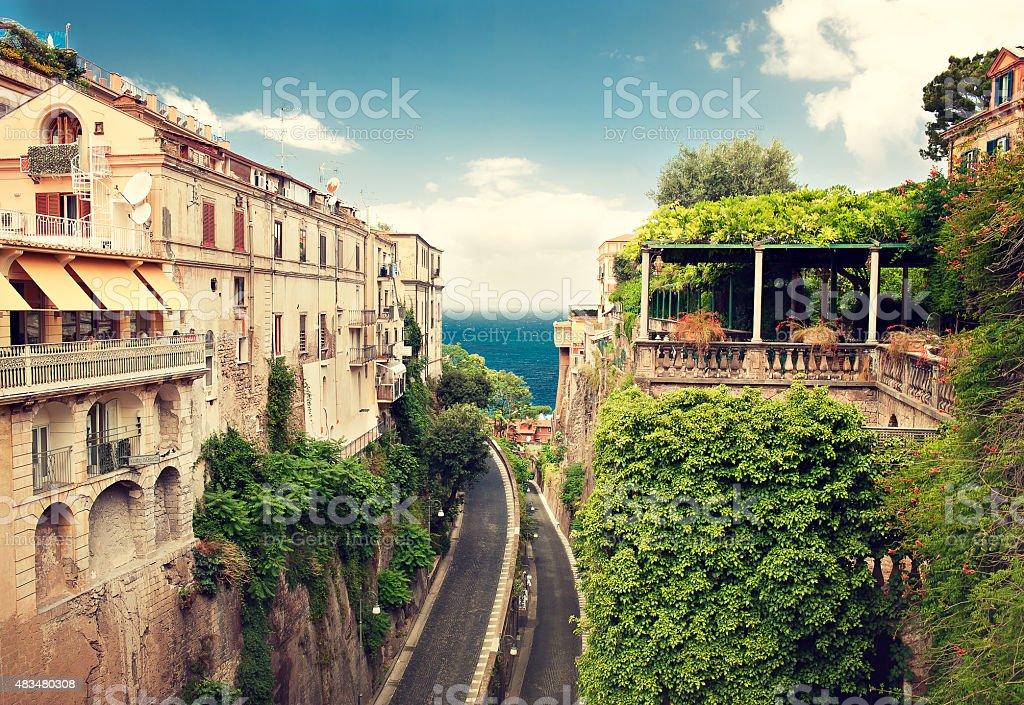 Italy. Sorrento. stock photo