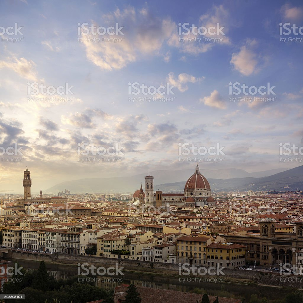 Italy: Tuscany - Florence royalty-free stock photo