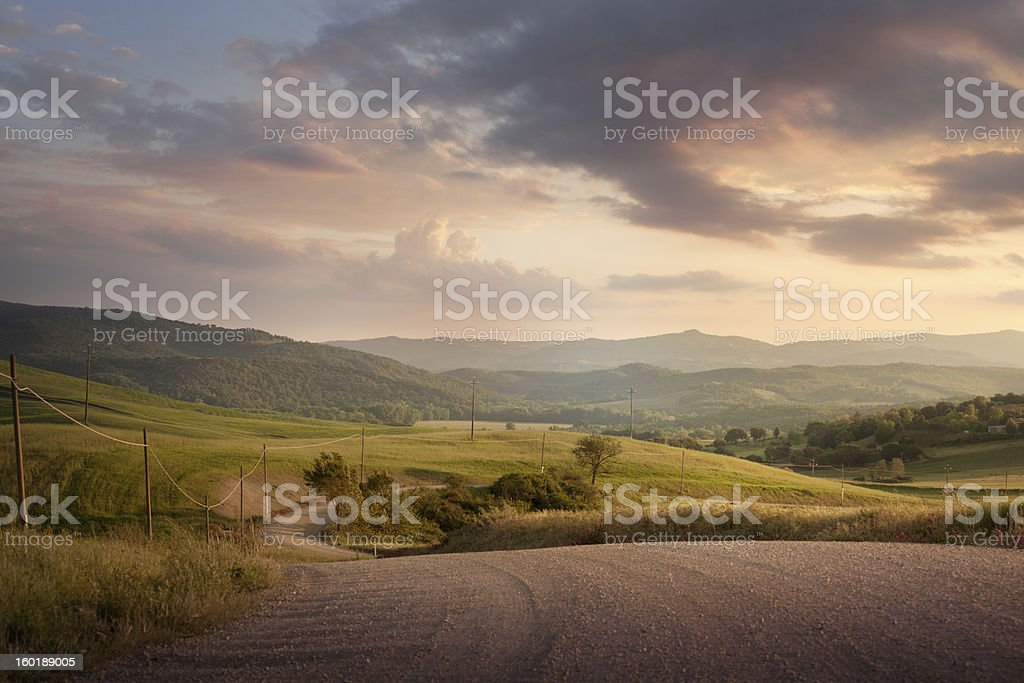 Italy: Tuscany royalty-free stock photo