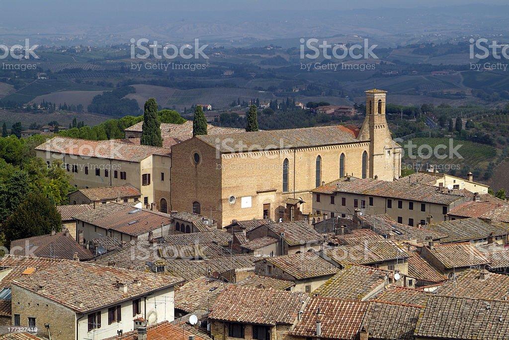 Italy, Tuscany royalty-free stock photo
