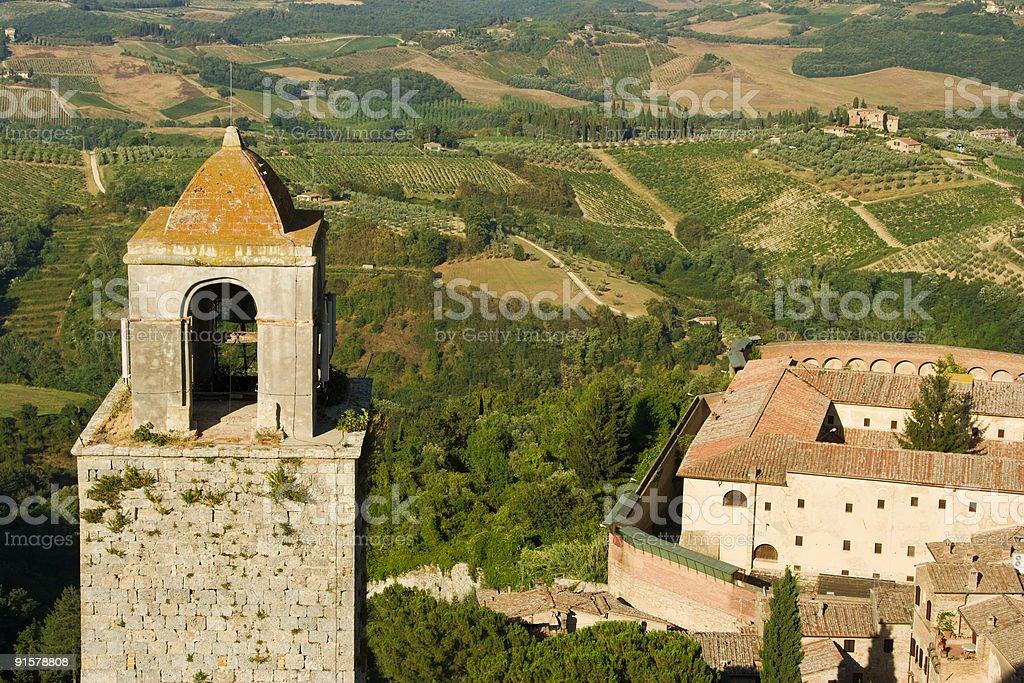 Italy, Tuscany, San Gimignano stock photo