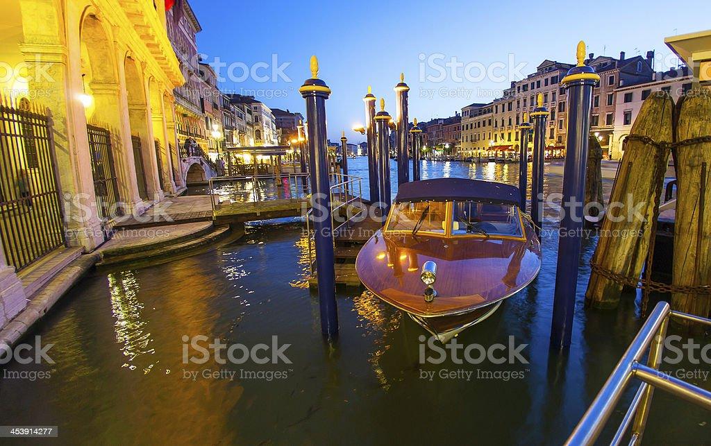 Italy Venice canal royalty-free stock photo