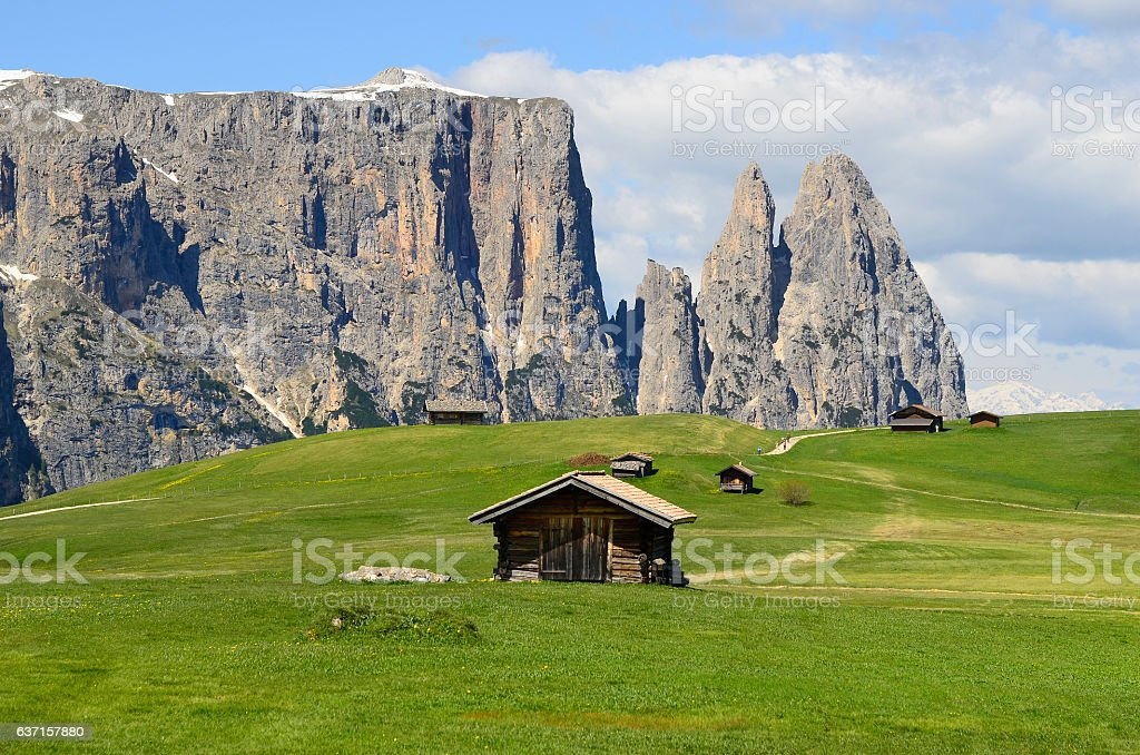 Italy_South Tyrol stock photo
