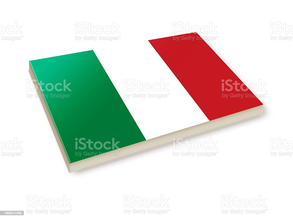 Italy's Flag stock photo