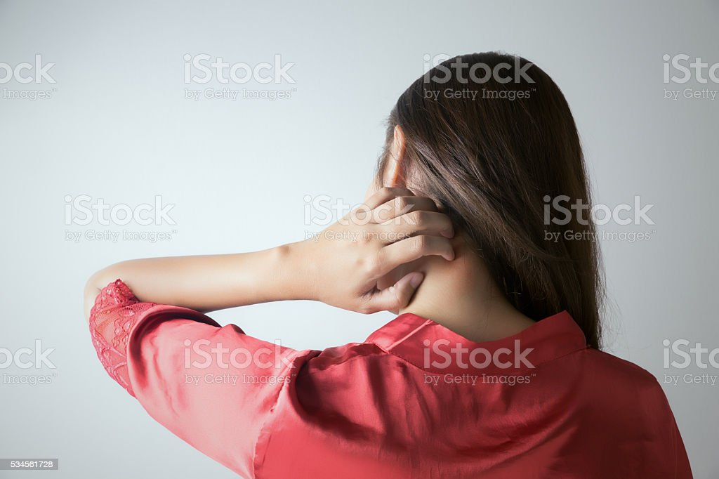 itchy stock photo