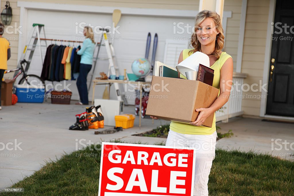 Items For Garage Sale royalty-free stock photo