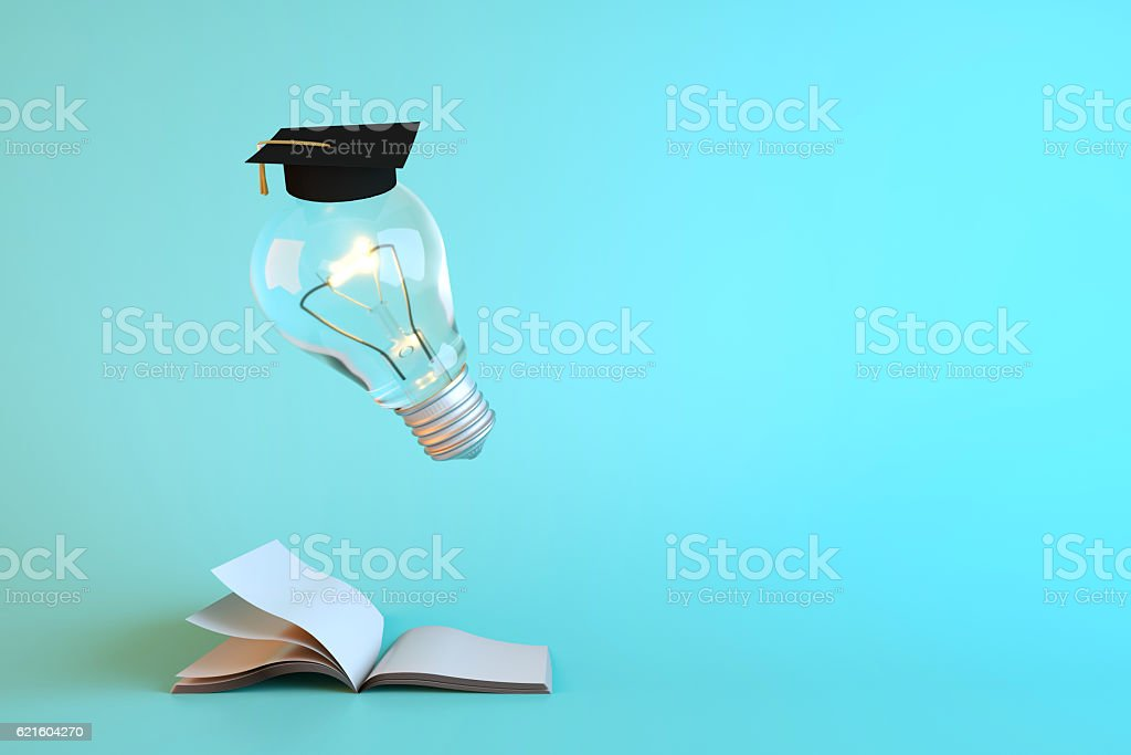 Items related to success. 3D render and illustration. stock photo
