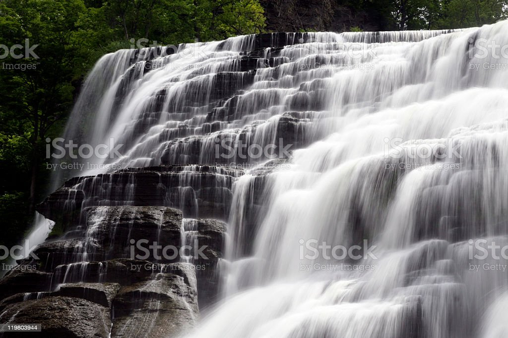 Ithaca falls stock photo