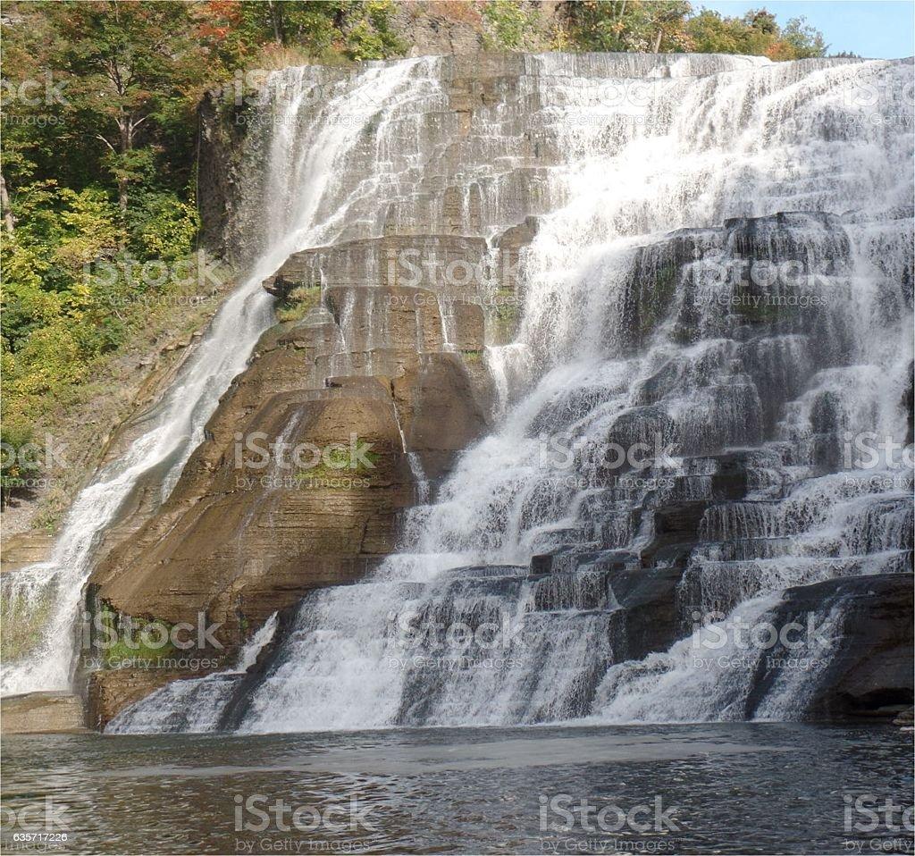 Ithaca Gorge stock photo