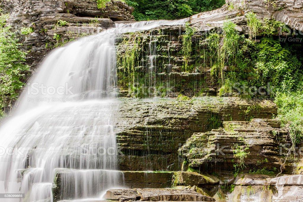 Ithaca Waterfall stock photo