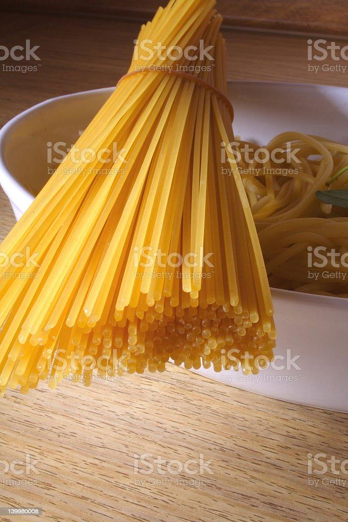 Itlian pasta royalty-free stock photo