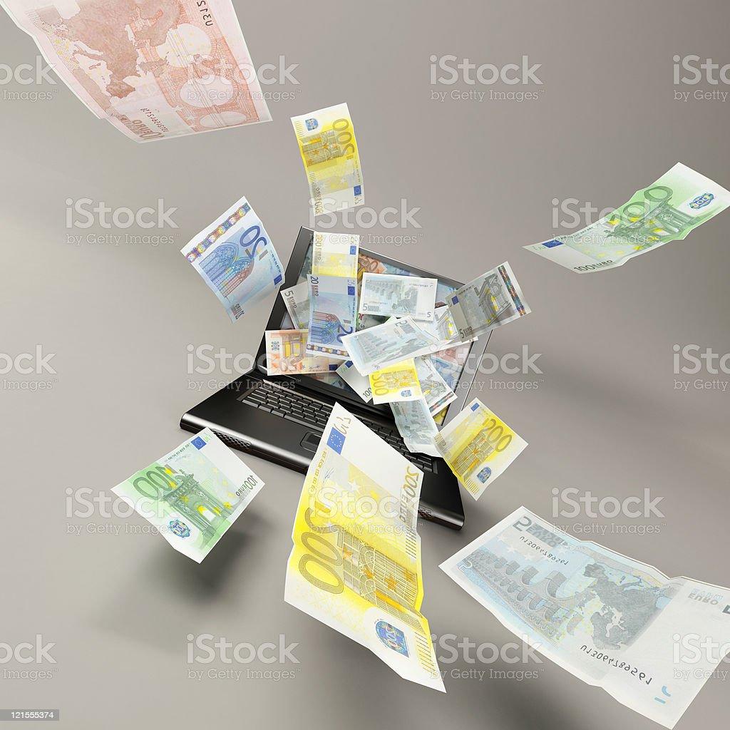 itnernet money royalty-free stock photo