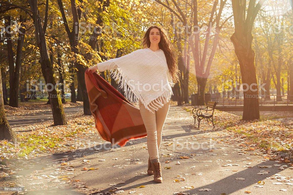 It's A Beautiful Autumn Again! stock photo