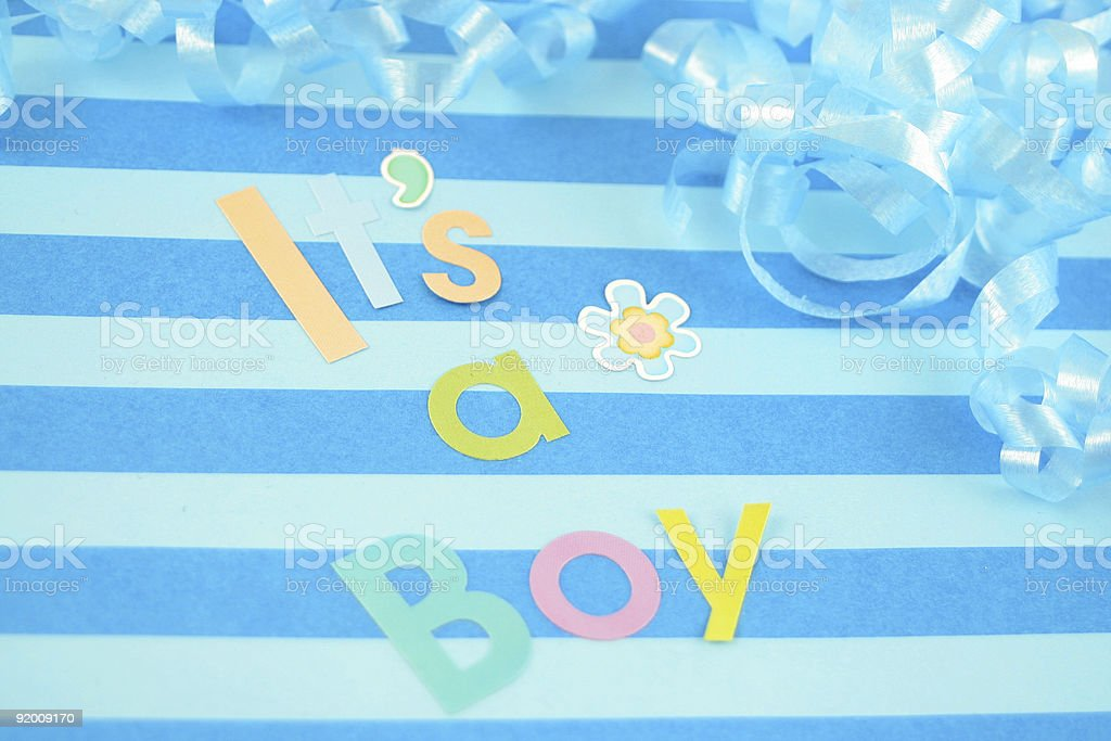 it's a  boy background royalty-free stock photo
