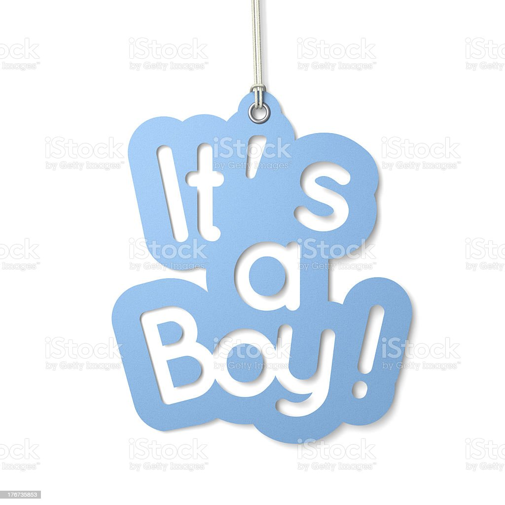 It's a Boy stock photo