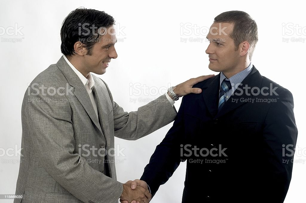 It's a deal 2 royalty-free stock photo
