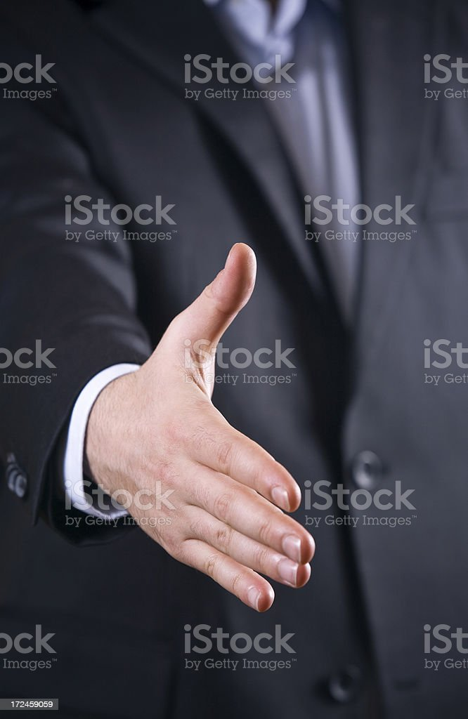 It's a Deal!!! royalty-free stock photo