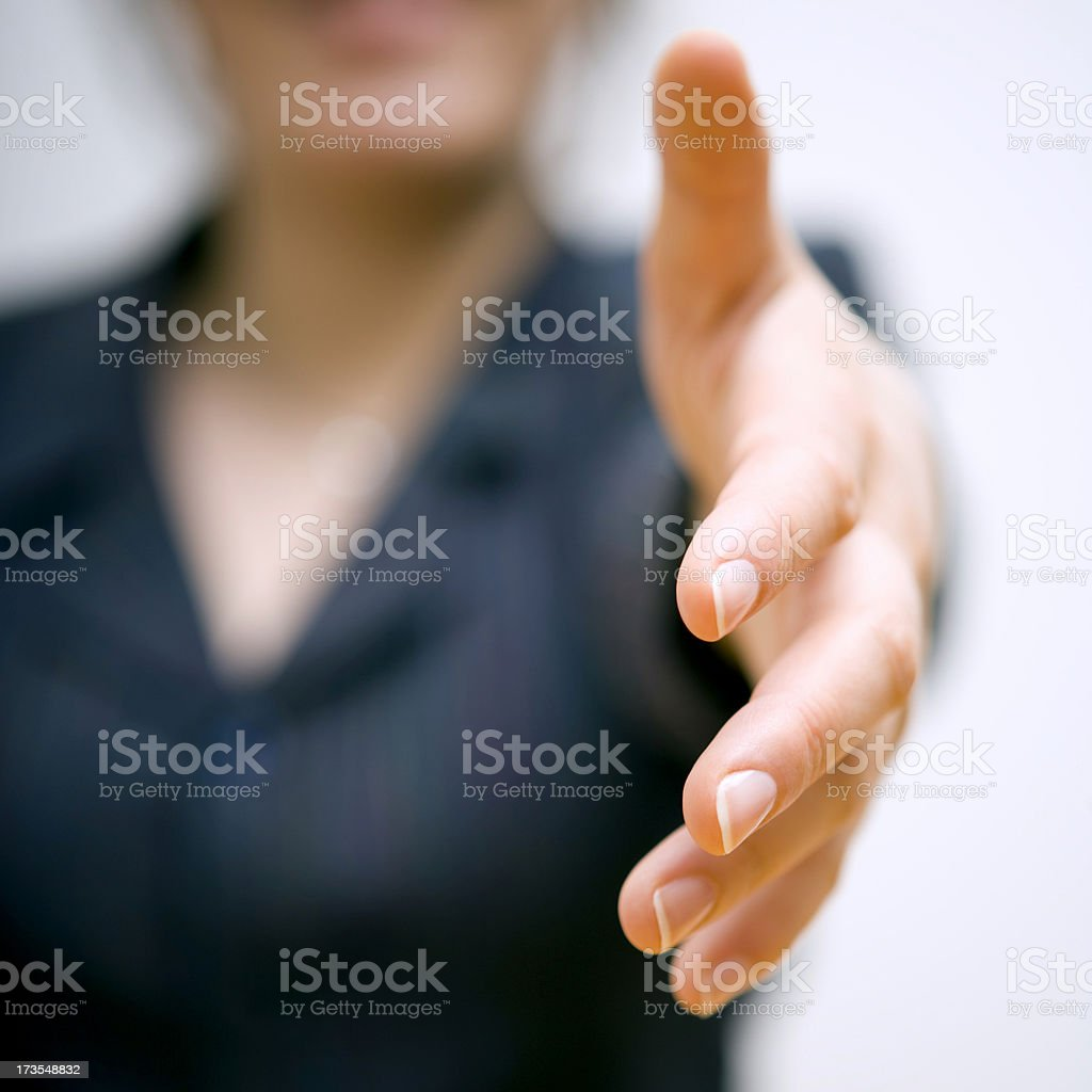 It's a deal!!! stock photo