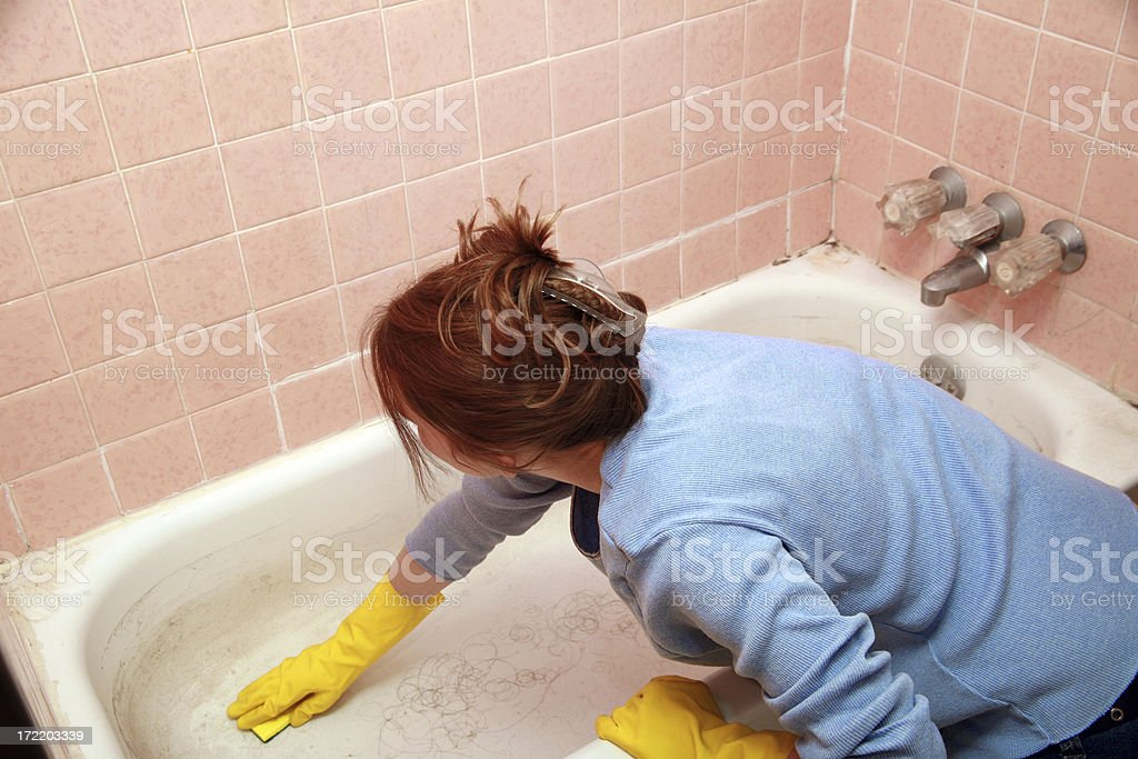 It's A Dirty Job... royalty-free stock photo