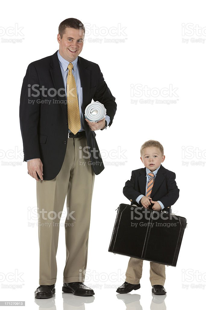 It's a family business royalty-free stock photo