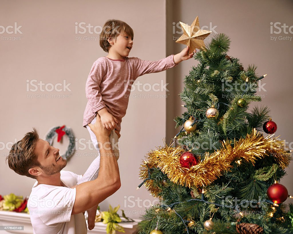 It's a family tradition... stock photo