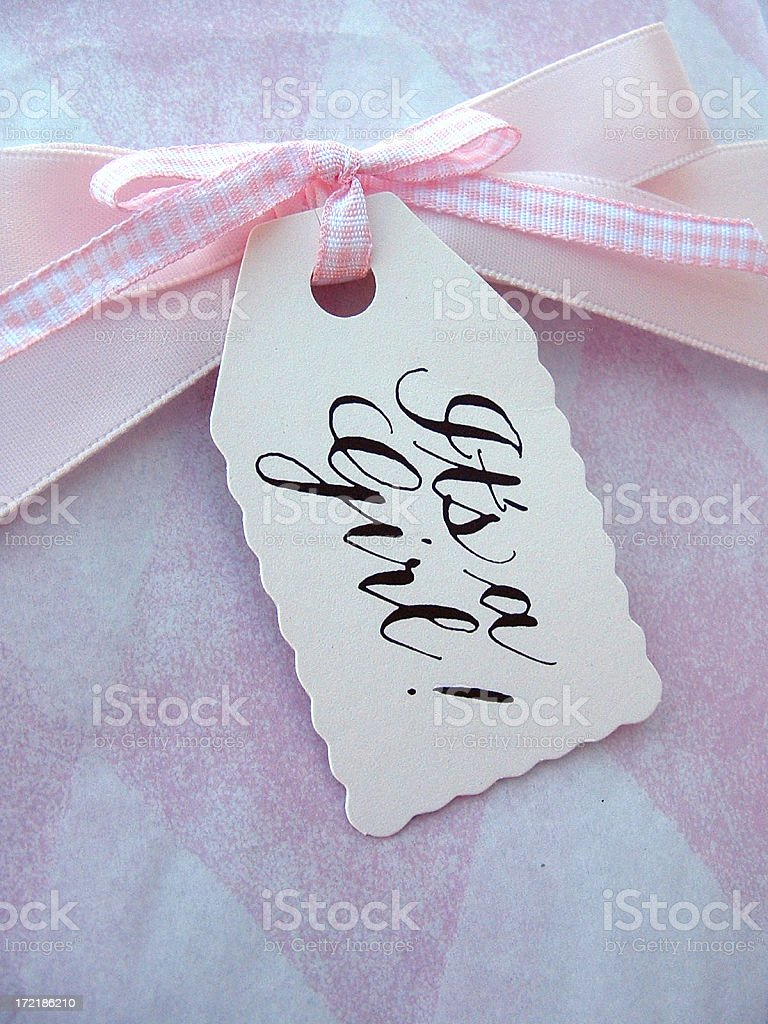 It's a girl! royalty-free stock photo