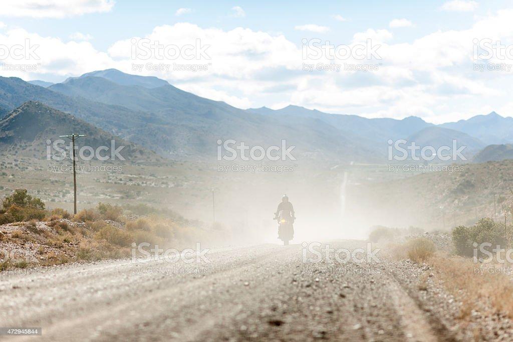 It's A Long & Dusty Road stock photo