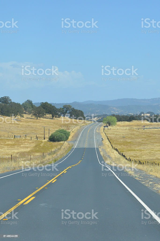 Its a long road home stock photo
