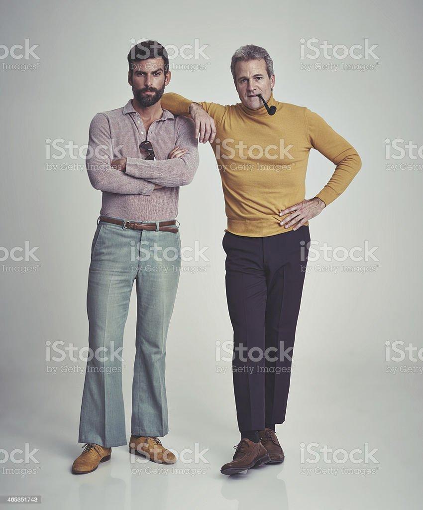 It's a man's world stock photo