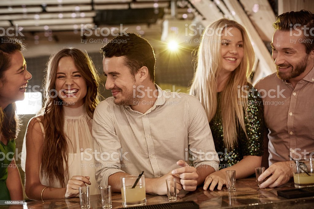 It's a party all the time stock photo