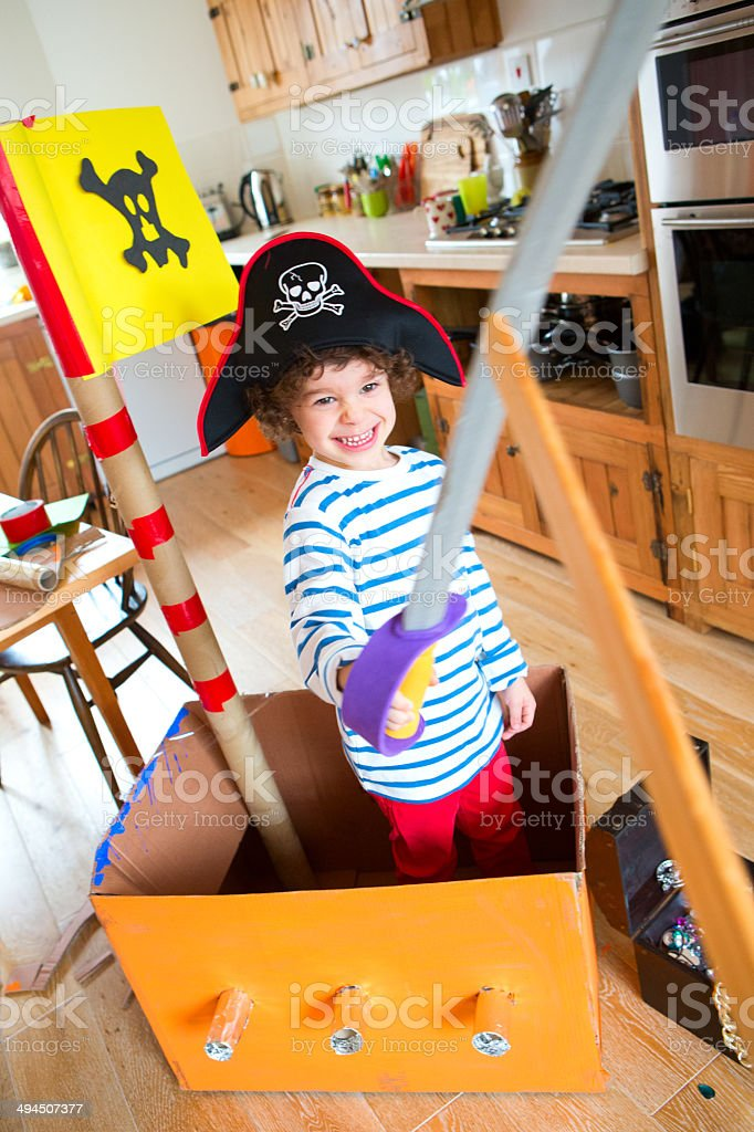 It's A Pirates Life for Me stock photo