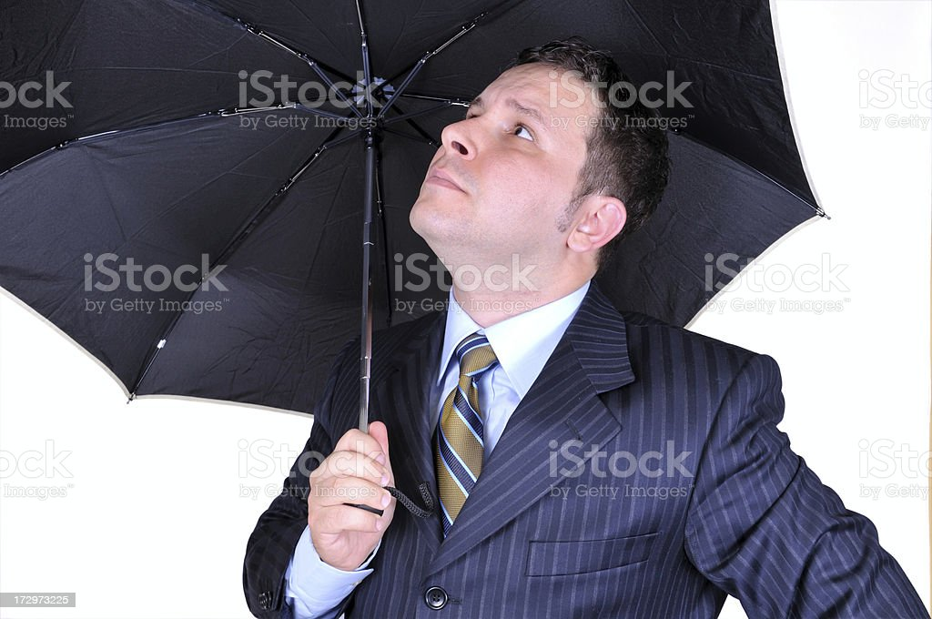 It's a rainy day royalty-free stock photo