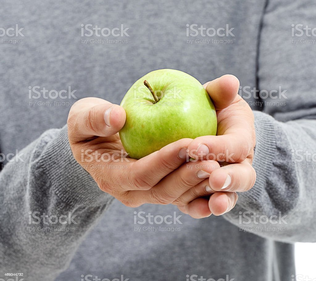 It's a snack packed with vitamins stock photo