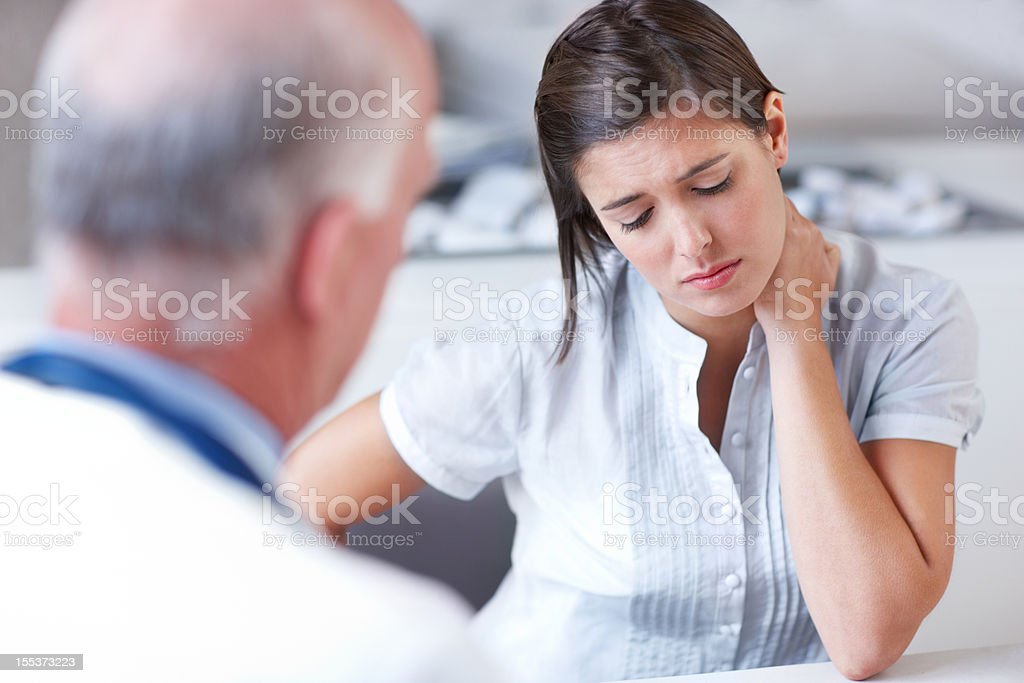 Its a tough diagnosis to process royalty-free stock photo