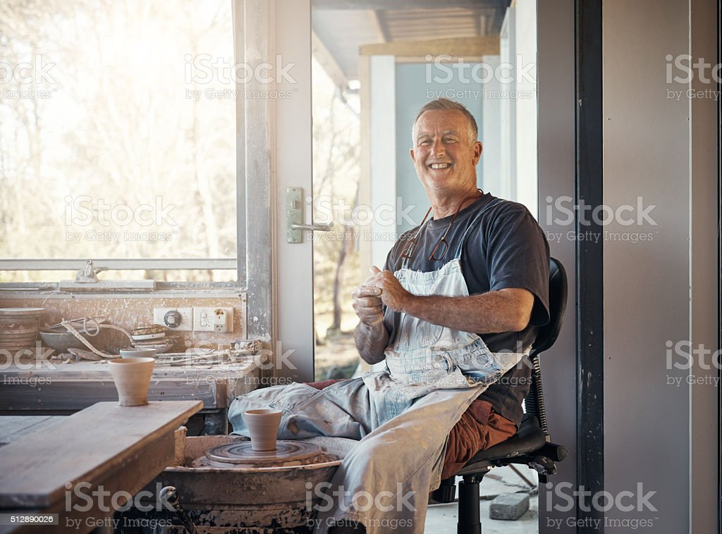 It's a way of life, not simply just my job stock photo