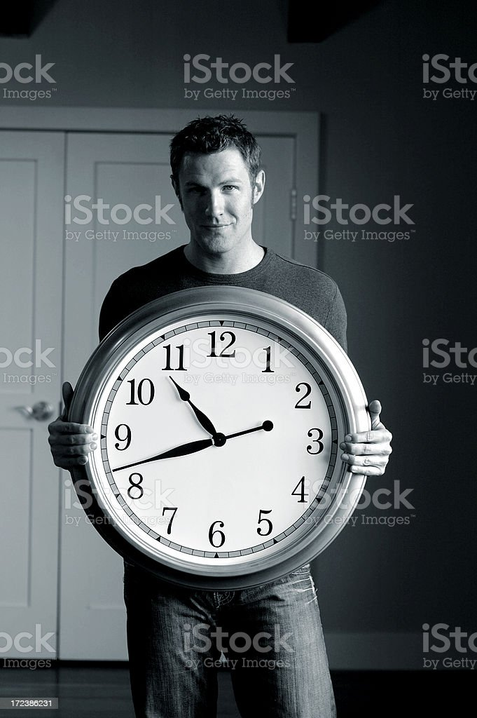 It's About Time royalty-free stock photo