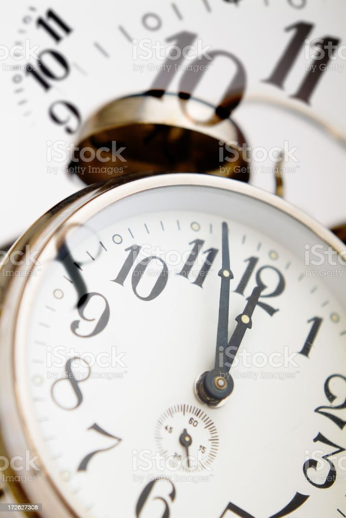 Its about Time Series II royalty-free stock photo