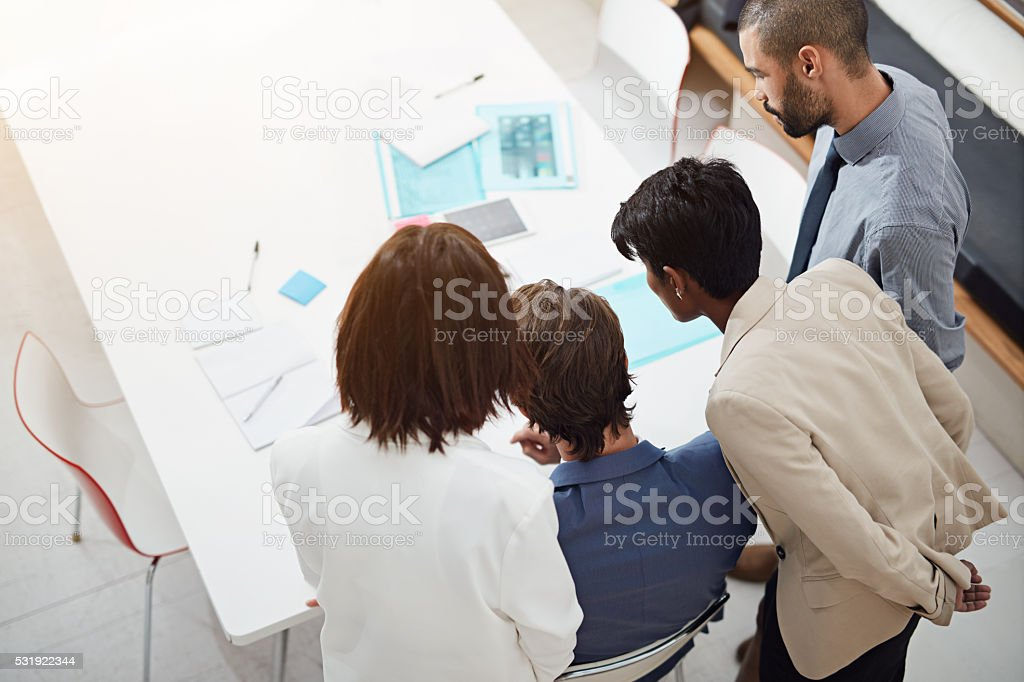 It's all about collaboration stock photo