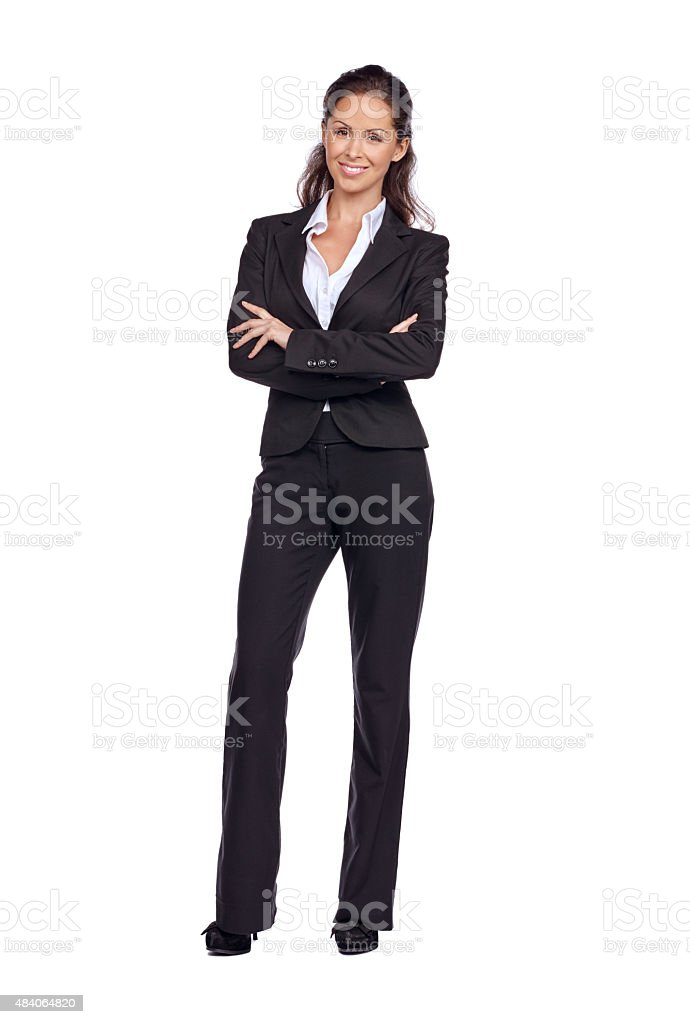 It's all about confidence in the corporate world stock photo