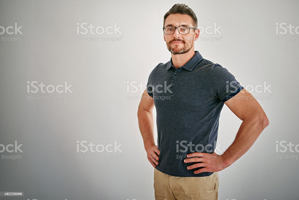 It's all about confidence stock photo