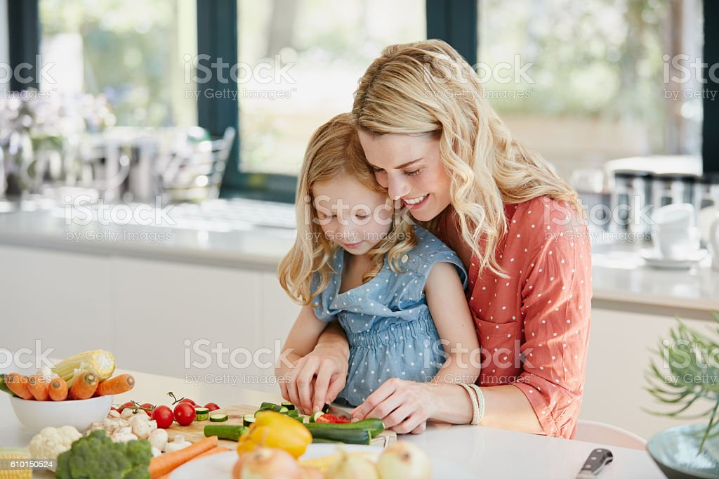 It's all about making the healthy choice stock photo